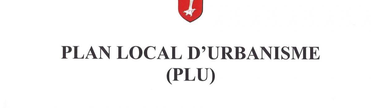PLU – Réunion publique